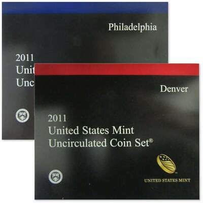 2011 U.S. Mint Uncirculated Set