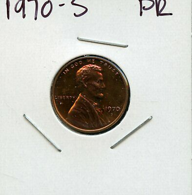 1970-S 1C United States Proof Lincoln Memorial Cent Bc483