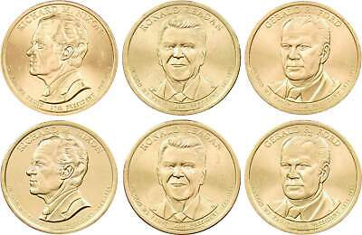 """2007-D /& 2009-P/&D Presidential 12 $1 Dollar Coin Uncirculated Sets  /""""UNOPENED/"""""""