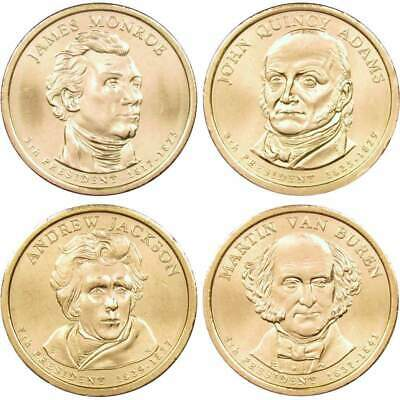 2008 P $1 Presidential Dollar 4 Coin Set Lot Uncirculated Mint State