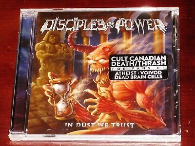 Disciples Of Power: In Dust We Trust CD 2019 Divebomb Records USA DIVE176 NEW