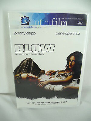 Blow (DVD, 2001) with Case