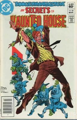 Secrets of Haunted House #46 1982 VG Stock Image Low Grade