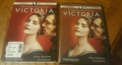 Victoria-The Complete Second Season-3 Dvd Set -New-Sealed Slip Cover
