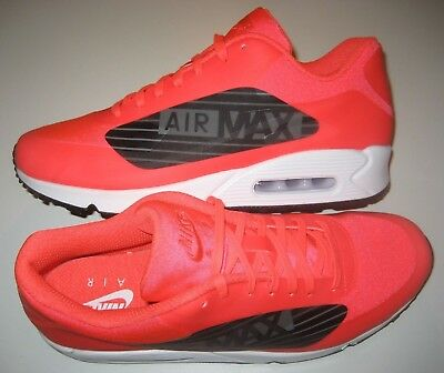 Nike Air Max 90 NS GPX Mens Running Shoes Bright Crimson Black White Size 11 e99583f2a
