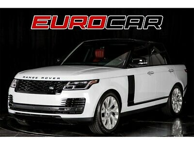 2018 Range Rover AUTOBIOGRAPHY 2018 Land Rover Range Rover Autobiography! WHITE ON RED!! 1 OWNER!