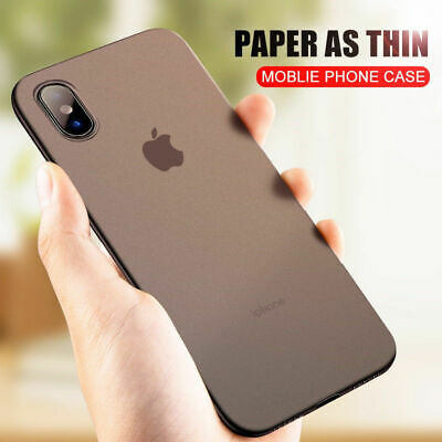For iPhone 11/ 11 Pro/ 11 Pro MAX Luxury Shockproof Ultra-thin Slim Back Case