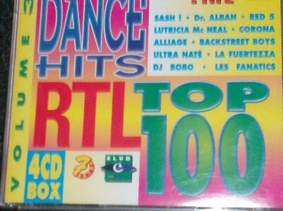 DANCE HITS RTL TOP 100 Vol. 3 (4 CD - 1997) Red 5, DJ Bobo, Ramirez, Miss Papaya