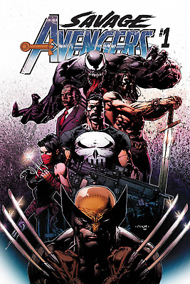 SAVAGE AVENGERS #1 Cover A David Finch (Marvel Comics 2019) - 5/1/19