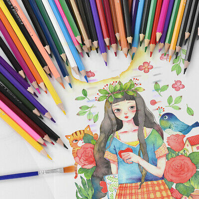 9d30b1868 48pcs Colored Pencils Art Set For Drawing Sketching Painting Adult Coloring  K2W2
