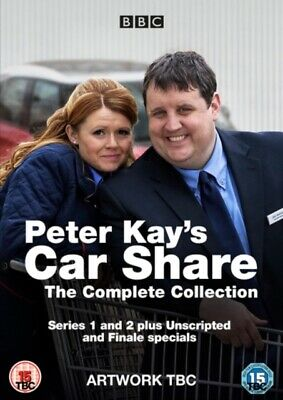 NEW Peter Kays Car Share - The Complete Collection DVD