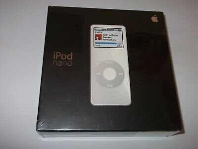 Rare Apple iPod Nano 1st Generation White (2GB) - NEW !!!