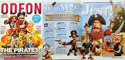 Odeon Cinema Magazine 2012 - The Pirates In An Adventure With Scientists