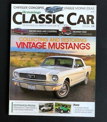 HEMMINGS  CLASSIC CAR magazine  #102  march 2013  cars of the /'60s /'61 falcon
