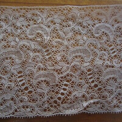 100cm x8cm Vintage Antique Cotton Lace French Heirloom Dolls Sewing 1930s 1940s