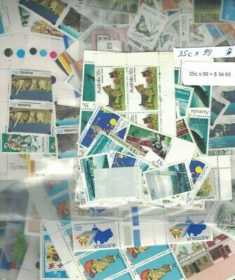 Australian POSTAGE $701 of Stamps all Mint Original Gum