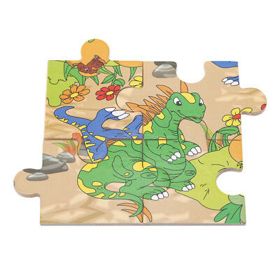 Wooden Puzzle Jigsaw Animals Kids Early Learning Educational Kids Baby Toys BS