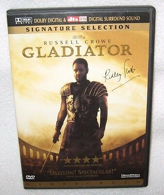GLADIATOR Signature Selection Widescreen 2 DVD'S