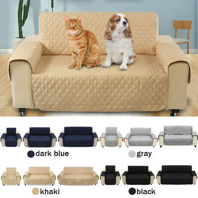 Pet Sofa Cover Quilted Couch Covers Lounge Protector Slipcovers 1/2/3 Seater AU