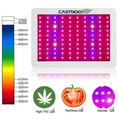 1000/2000W Grow Light Hydro Full Spectrum Hydroponic Veg Bloom Plant Lights Lamp