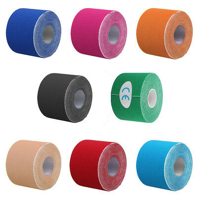 Elastic Kinesiology Sports Tape Physio Therapeutic Muscle Pain Injury Care Tapes