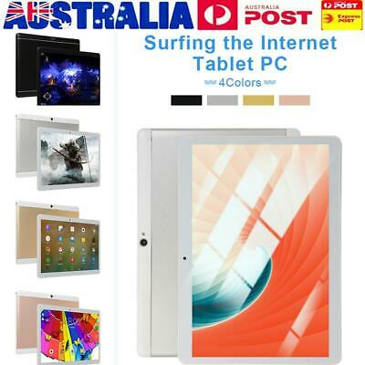 AU 10.1 Inch Android 8.0 6GB + 64GB Ten-core Tablet PC HD Screen GPS WiFi Camera