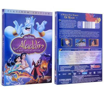 Aladdin Disney DVD 2-Disc Set Special Edition Animated Robin Williams Movies New