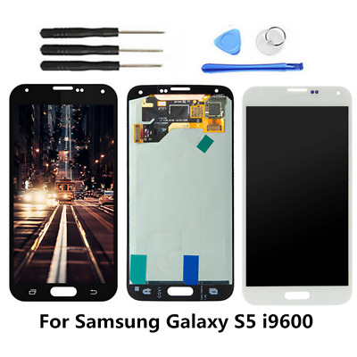 For Samsung Galaxy S5 G900V G900F G900A LCD Touch Screen Digitizer Display OEM