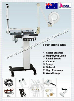 Facial Steamer 8 In One Functions Machine New Model AUSSIE SELLER