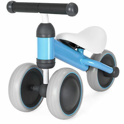 BCP Toddler Training 3-Wheel Balance Bike Tricycle w/ Cushioned Seat, Hand Grips