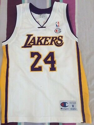 Canottiera Jersey basket Los Angeles Lakers Bryant NBA champions kids  bambino 51356d56c742