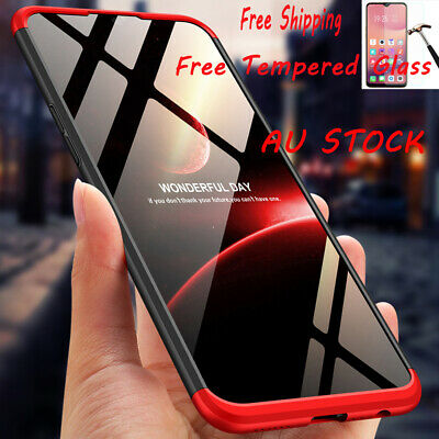 360° Full Protection Heavy Duty Cover Shockproof Armor Hard PC Case For OPPO AX7