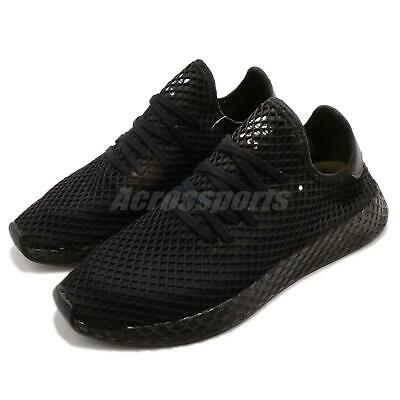 wholesale dealer c5c50 d8658 adidas Originals Deerupt Runner Black White Men Running Shoes Sneakers  B41768