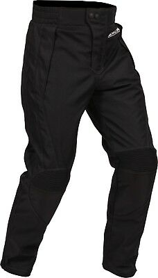 Buffalo Sport Black Textile Waterproof Motorcycle Trousers New £69.99!!