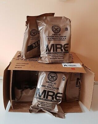Mre Ration Pack Food Military Us Army