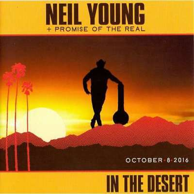 Neil Young 2 Cd In The Desert 2016