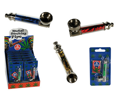 Metal Smoking Pipes With 5 Pipe Screens