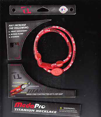 Meda Pro Titanium Homeopathic Remedy Sports Necklace Improve Stamina NIB