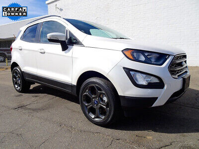 2018 Ford EcoSport SES 2018 Ford EcoSport SES SUV Used 2L I4 16V Automatic 4WD