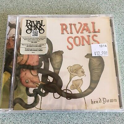 RIVAL SONS Head Down CD NEW/Sealed