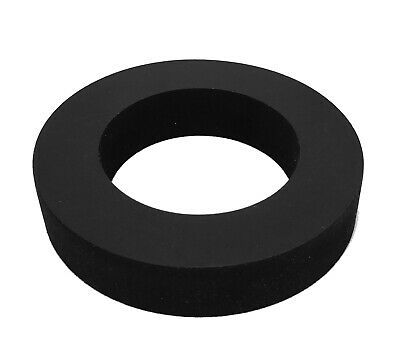 "Herco #488 Precision Neoprene Rubber Ring - Bushing - Pad - Wheel (4-7/8"" OD)"