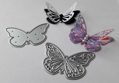 Dovecraft Mini Cutting Dies - Butterflies 2 Layering butterfly dies ( 084)