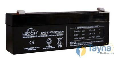 Leoch LP12-2.3 Sec 12V 2.3Ah Sealed Batterij
