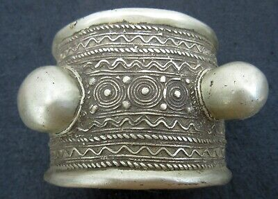 Antique UNIQUE Vintage Ethnic Tribal Bracelet ~ Pre Columbian ? ~ 2.7 pounds