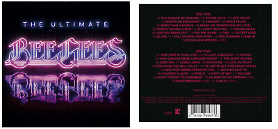 The Ultimate Bee Gees (2-CD set) NEW Best of, Greatest Hits, Barry Gibb SEALED