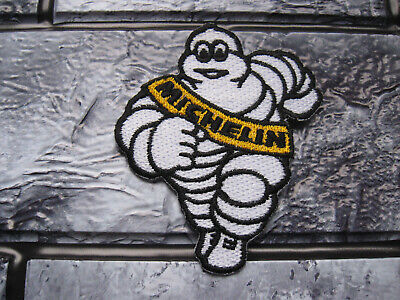 Aufnäher Michelin Aufbügler Patch Motorcycles Motorcross Tuning Biker Race GT FX