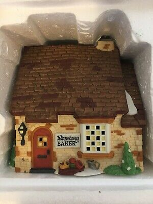 Dickens' Village Series Wrenbury Baker Department 56 Heritage Village Collection