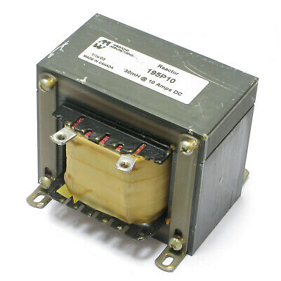 Hammond Manufacturing 195P10 Heavy Current DC Reactor Filter Choke, 30mH 10 Amps