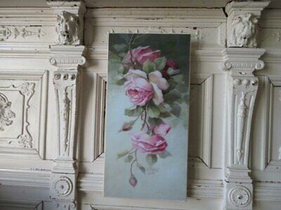GORGEOUS Christie REPASY CANVAS PRINT Pink Roses Called Cascading Roses