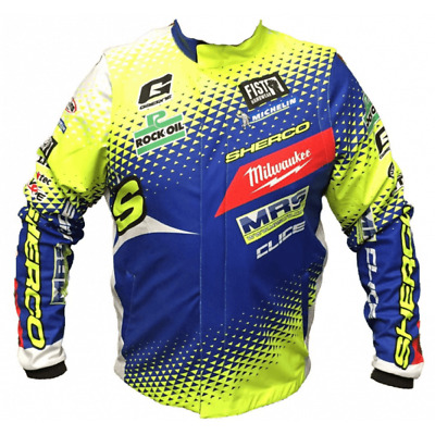 Clice Adults MRS Team Sherco Motor bike Motorcycle Trials Jacket
